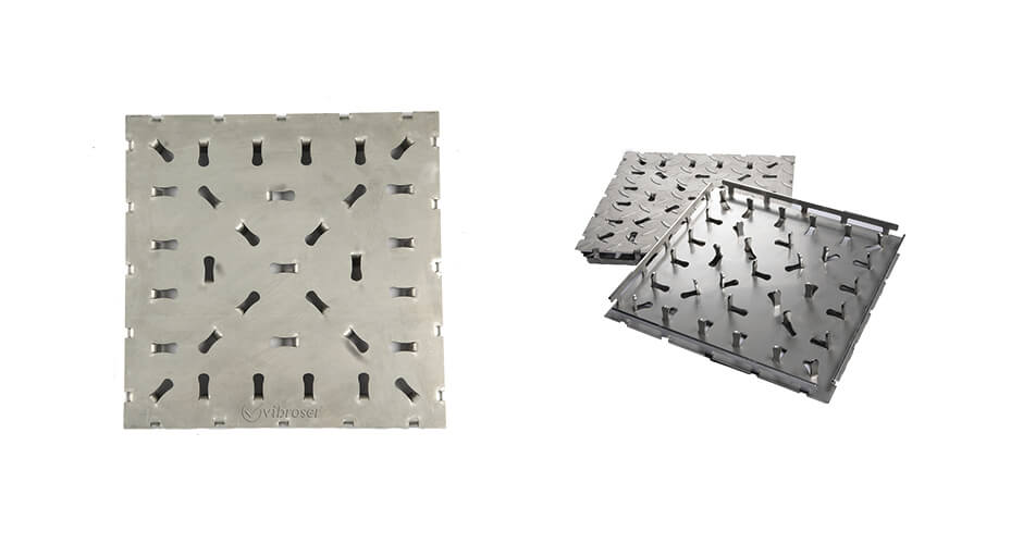 Stainless Steel Tile – Flat Surface Transition Tile DPK300-03003003
