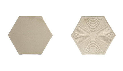 FAVO W6 Beige Hexagonal Anti Acid Tile FVW6B10011613-2