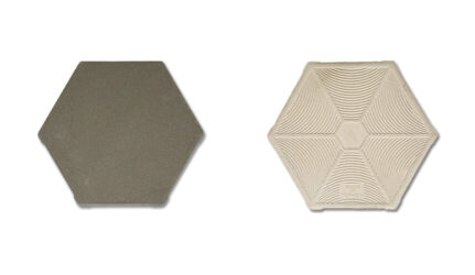 FAVO W6 Grey Hexagonal Anti Acid Tile FVW6GK-10011615
