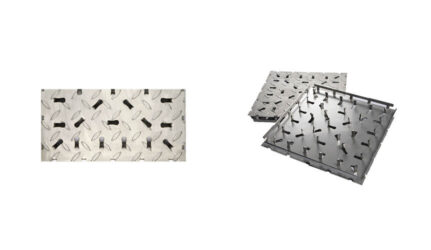 Stainless Steel Tile – Non-Slip Surface Transition Tile KPK150-03001503