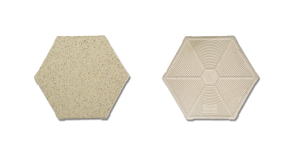 Hexagonal Anti Acid Tile SAHARA-10011518