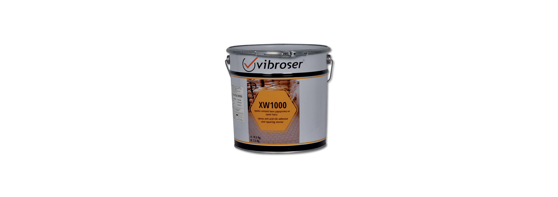 Epoxy Adhesive And Repair Mortar Xw1000 0000eyth Vibroser