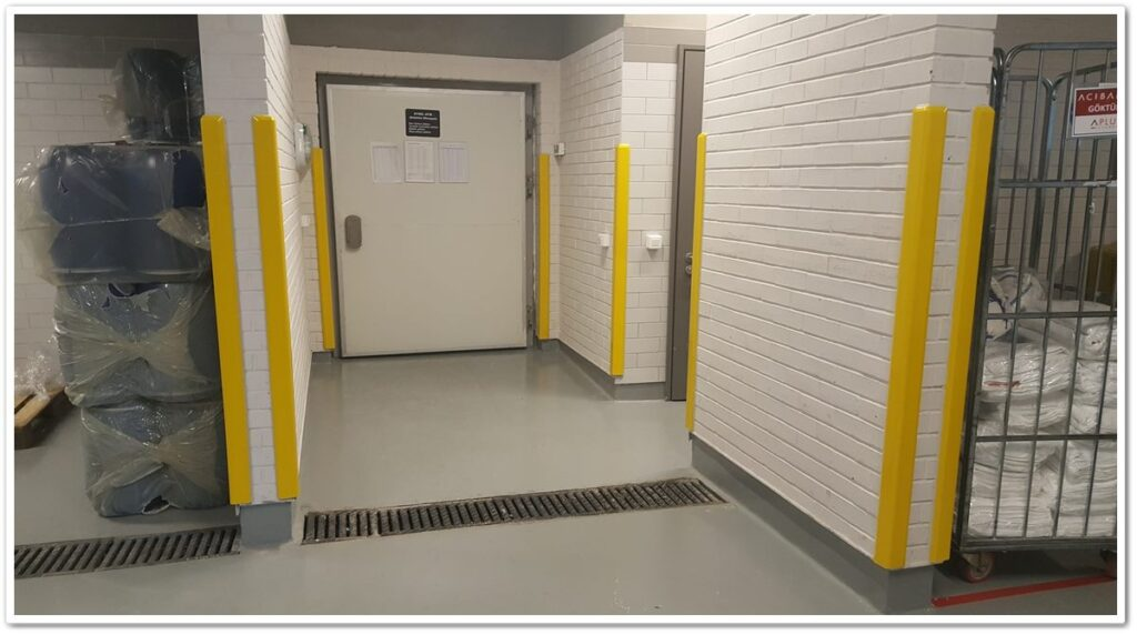Hygienic Wall Protector Applications   Vibroser Global