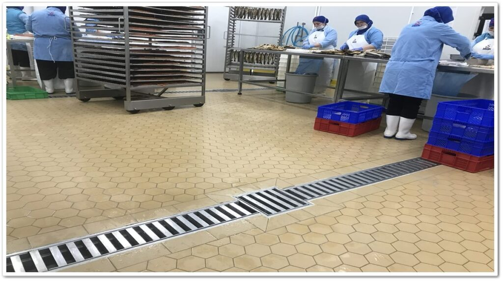 Industrial Hygiene Drainage System Applications   Vibroser