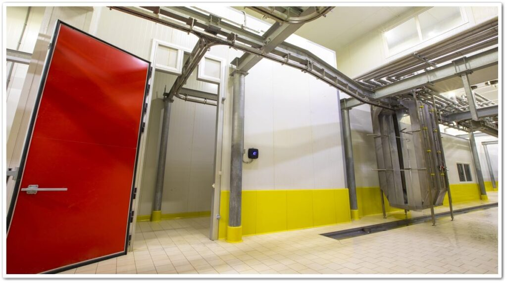 Hygiene Industrial Panel and Wall Protector Applications   Vibroser