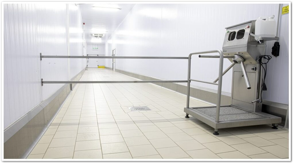Hygienic Curb Stainless Protector Application   Vibroser