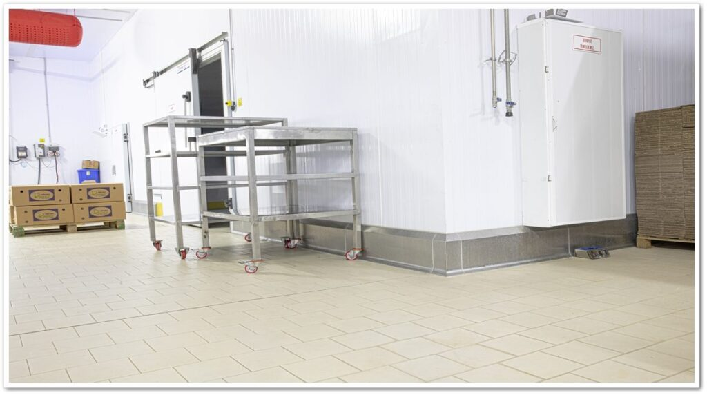 Hygienic Curb Stainless Panel Protector Applications   Vibroser